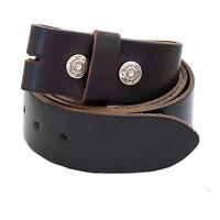 Rindsleder Wechselgürtel, Gürtel für Buckle Gürtelschnalle, Buckle Belt Leather