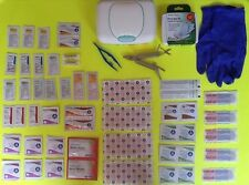 102 Piece First Aid Kit Emergency Survival Disaster Bug Out Bag Prepper Doomsday