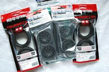 TAMIYA 1/10 RC CAR TIRE(53214)+WHEEL(53336)+INNER(53156);SuperGripRadial,MeshWh.
