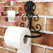 Bathroom Oil Rubbed Bronze Wall Mounted Toilet Paper Holder Tissue Roll Holder