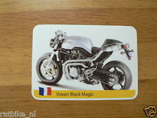 INFO CARD MOTORCYCLE VOXAN BLACK MAGIC