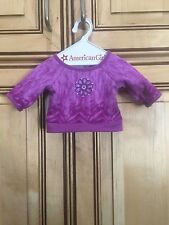 2009 American Girl Doll Chrissa Retired Pajamas Shirt Top ONLY