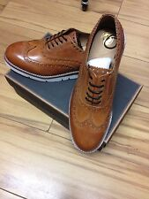 HUDSON BROGUES TAN 11
