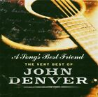 John DENVER A SONG'S BE ST FRIEND CD VERY BEST OF 2CD VGC
