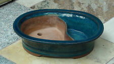 VINTAGE CHINESE YIXING ZISHA POTTERY GLAZED SECTIONAL PLANTER