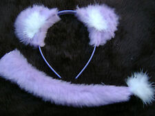 Lilac Lion Ears And Sweet Tail Instant Animal Fancy Dress Costume Dress Up