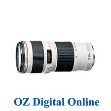 New Canon EF 70-200mm f/4 F4.0 L USM Lens 1 Year Au Wty