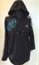 NEW Official Adidas London Team GB Black Hoodie Tracksuit Jacket Medium Olympics
