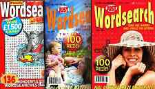 Wordsearch Books - 3 Book set - Over 300 Puzzles - New  (Set 3)