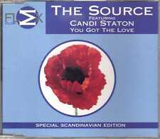 The Source feat. Candi Staton - You Got The Love - CDM - 1997 - Big Beat FLEX
