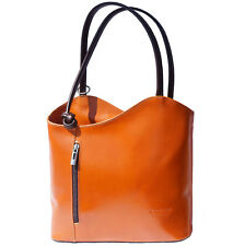 Shoulder Bag Italian Genuine Leather Hand made in Italy Florence 207