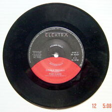 """ONE """"PROMO ONLY"""" 45 R.P.M. RECORD, THE CARS, COMING UP YOU + DOUBLE TROUBLE"""