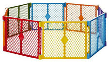 NORTH STATE SUPERYARD XT BABY GATE PLAY YARD PET COLORPLAY PLAYARD PEN 8 PANEL
