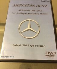 Mercedes Benz 1982 - 2007 Service Repair Manual Workshop E C CL CLK S SLK ML