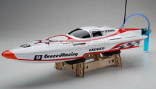 Exceed Racing 620EP RACER Electric Powered Fiberglass Speed Boat KIT - White