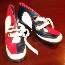 Shoes 1960's Hush Puppy Two Tone Mod British Invasion Kings Road Rd Wt Bl 6.5M
