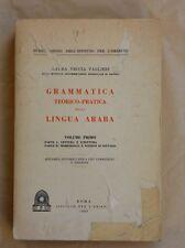 GRAMMATICA TEORICO / PRATICA DELLA LINGUA ARABA - COD.L2666 - LIBRI