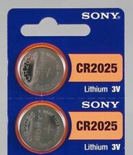 2 Sony CR2025 Lithium Coin Battery New Expire 2023 Ship from USA
