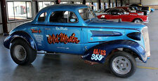 "DECALS - Ken Silvestri's 37 Chevy Gasser...""The Old Master"" AA/GS  Wow!!"