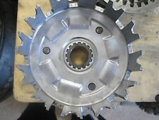 1983 xr 500 xr500 clutch basket with steel clutch plates and friction plates