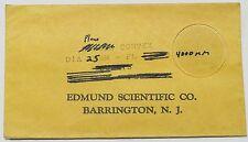 Edmund Scientific Meniscus Lens 30mm Diameter,  510mm Focal Length