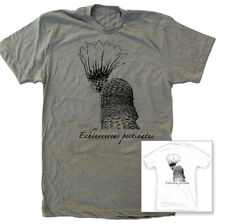 Cactus T Shirt, Unisex S-XL —Echinocereus pectinatus nature t shirt 100% cotton