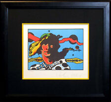 "Peter Max ""Prince Caspian of Narnia"" SIGNED FINE POP ART Framed lithograph OBO"