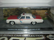The James Bond car collection Issue 131* CHEV BEL AIR POLICE CAR & mag , Rare