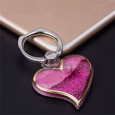 Multifunctional Bling Ring Stand Holder Creative Heart-Shaped Phone Case Decor @