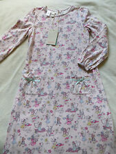 BNWT Girls Monsoon Pink Fairy Cotton Long Sleeve Nightdress Age 9-10 yrs