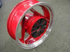 Ducati 750 Sport Rear Wheel Red / Polished Rim OEM