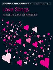 TASTIERA facile libreria LOVE CANZONI VOLUME 1 Principiante impara Play FABER LIBRO MUSICA
