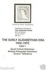 """Canadian Stamp Handbooks: ""Early Elizabethan 1952-1972, Pt 1"": by Michael Milos"