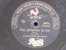Wadsworth & Arden-Sax & Piano/The Memphis Blues-My Lonesome Girl/Pathe 20378/E+