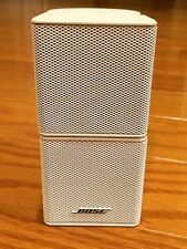 1 Bose White Jewel Double Cube Speaker Lifestyle 18/20/25/30/28/35/48/V30 or V35