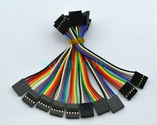 10pcs 5pin 10cm 2.54mm Female to Female jumper wire Dupont cable for Arduino