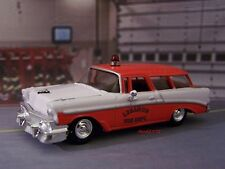 1956 56 CHEVY NOMAD FIRE CHIEF'S CAR 1/64 SCALE COLLECTIBLE MODEL - DIORAMA