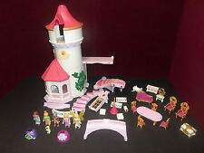 Playmobil royal castle 5142 parts, furniture, figurines lot princess, fairy