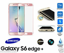 Samsung Galaxy S6 Edge Plus 3D Curved ROSE Tempered LCD Glass Screen Protector