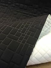 Black Car Camper Van Truck Auto Upholstery Cloth Material Fabric