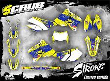 SCRUB Suzuki DRz 400 1999 - 2017 Grafik Sticker Dekor-Set '99-'17