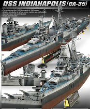 Academy 1/350 USS Indianapolis CA35 Heavy Cruiser 14107 NIB Ship From U.S.A