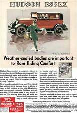 Hudson 1931 - Essex Ad - Hudson Essex  Weather-sealed bodies are important to Ra