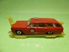 SABRA CRAGSTAN 8102 CHEVELLE FIRE CHIEF 1:43 - RARE SELTEN - GOOD ON STAND