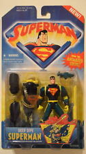 Animated SUPERMAN Action Figure DEEP DIVE SUPERMAN MOC Kenner 1996
