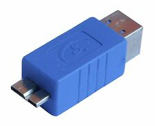 Superspeed USB 3.0 Micro B Male to 3.0 Type B Female Converter Adapter AU3MCB-B2