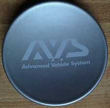 Yokohama AVS VS-5 Center Cap Centre Cover VS5 Advan SILVER JDM