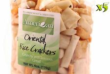 30oz Gourmet Style Bags of Oriental Rice Crackers [1 7/8 lb.]