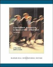 Consumer Behavior and Marketing Strategy: By J. Paul Peter, Jerry C. Olson (Mcgr