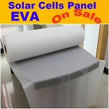 680MM x 5M Photovoltaic Solar EVA Film For DIY Solar Cell Encapsulation
